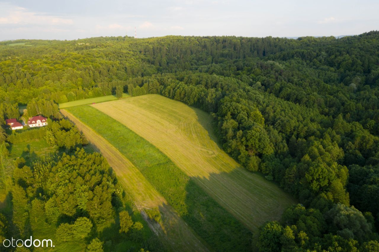 Działka pod zabudowe - Rzezawa, blisko Bochnia