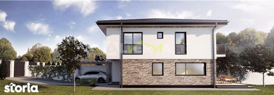 Casa tip Duplex 5 camere, curte libera 240mp, Popesti / 930 EUR/mp