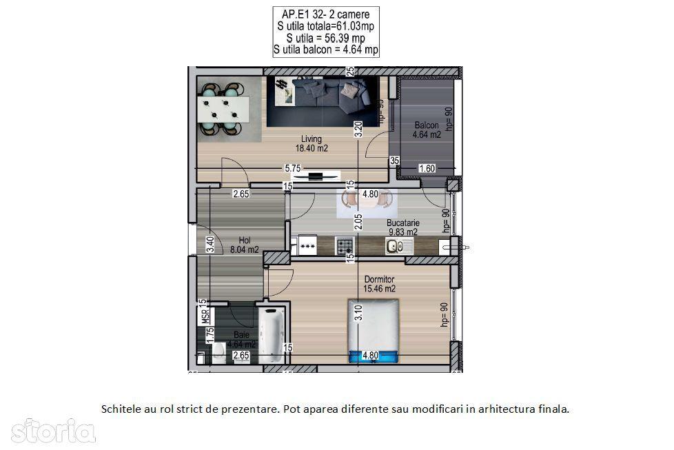 Apartament 2 camere Titan - Metrou 1 Decembrie 1918