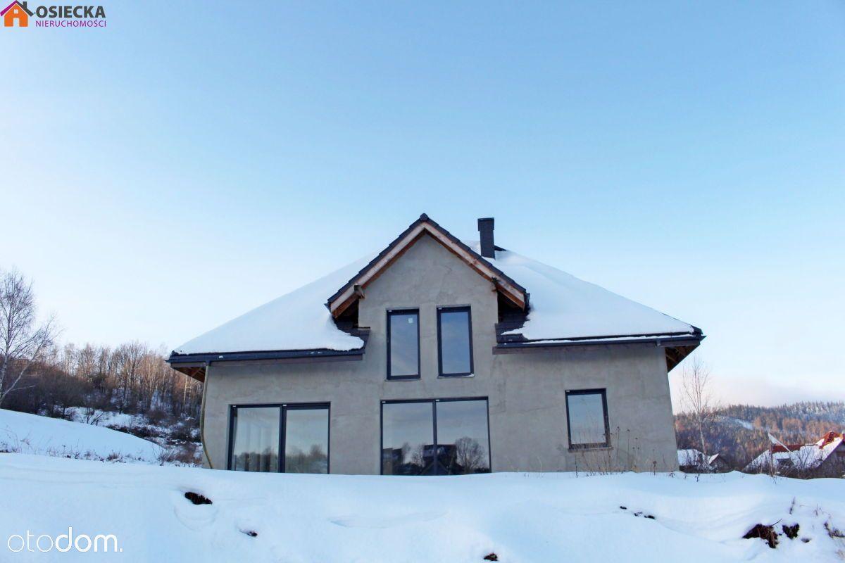 Dom wolnostojący z ogrz. podłogowym