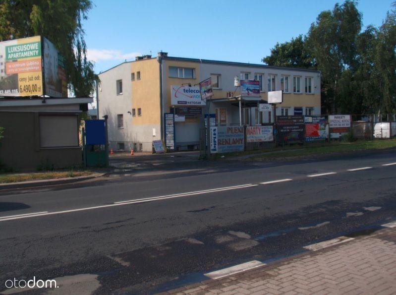 Budynek biurowy 480 m² i magazyn 909 m², Lublin