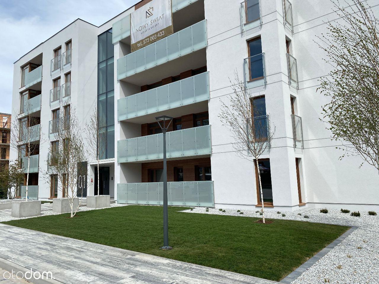Apartamenty Nowy Świat od 29,49m2 do 80,60m2