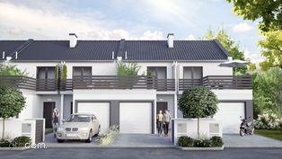 69,78m2 Dom Dachowa TYP C, z ogródkiem i garażem