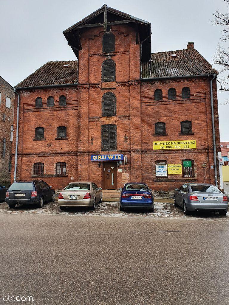sprzedam budynek usługowy w centrum miasta