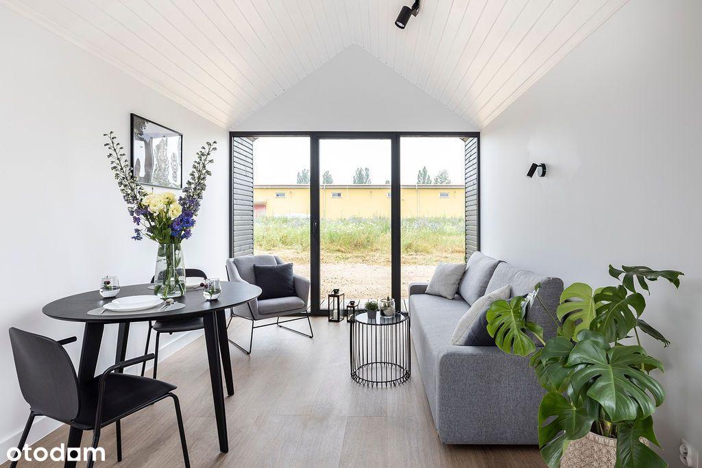 Dom na zgłoszenie - całoroczny do 35 m2