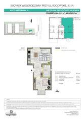 1.1 ROGOWSKA 131A piękne rozkładowe 2 pokoje