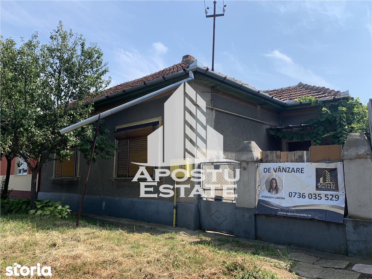 Casa in centrul Dumbravitei, teren 990 mp