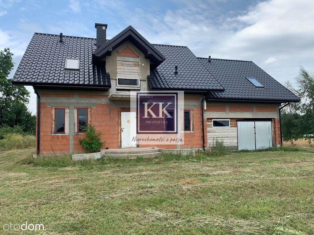 Dom w stanie surowym w Skaryszewie