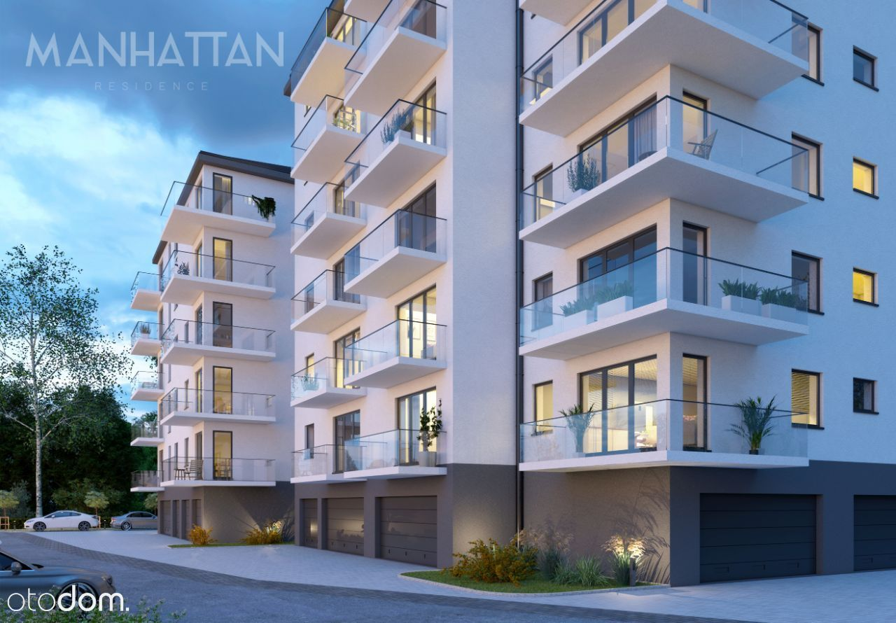 M9 Apartament 63, 33 mkw (3 pokoje) z tarasem