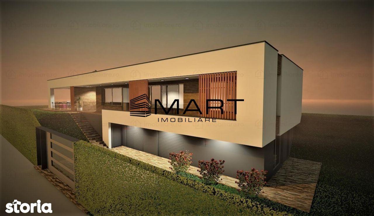 Teren cu proiect casa - 900mp, str Pinului- Cisnadioara
