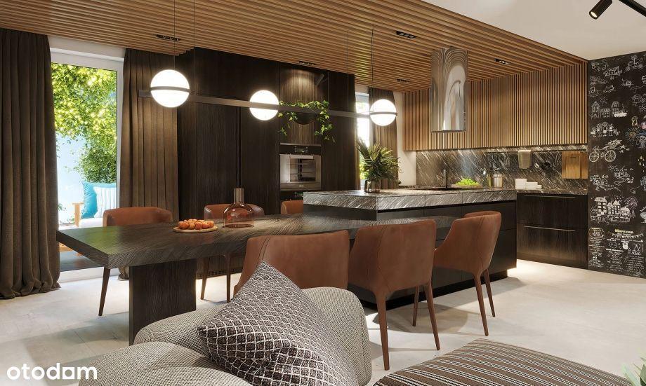 Dwupoziomowe mieszkanie - przestrzeń jak w domu