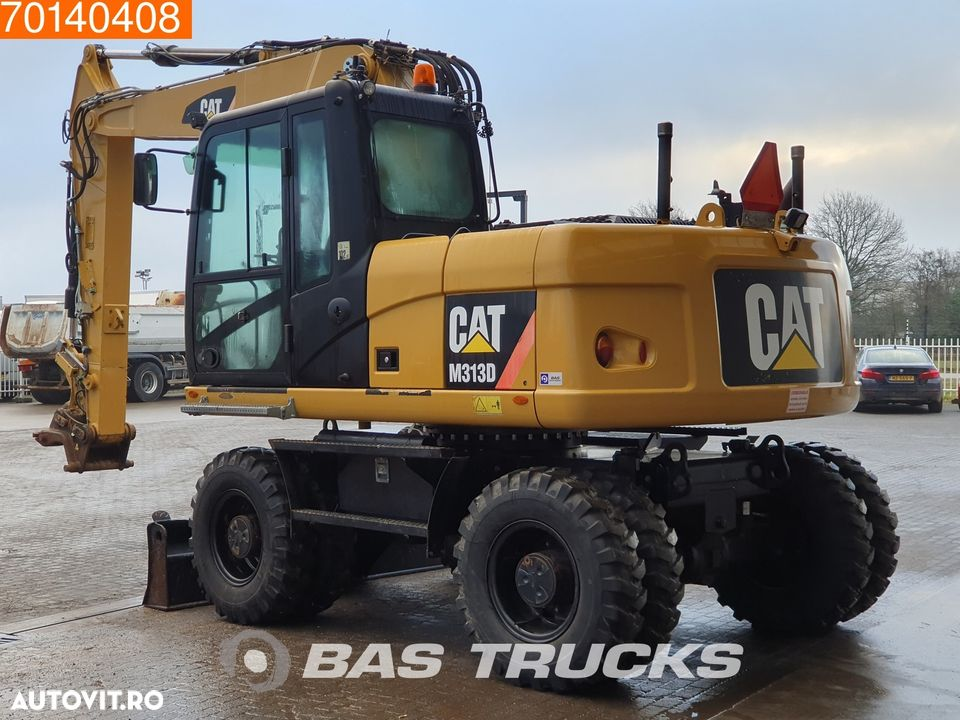 Caterpillar M313D DUTCH DEALER MACHINE - NEW TYRES - 2