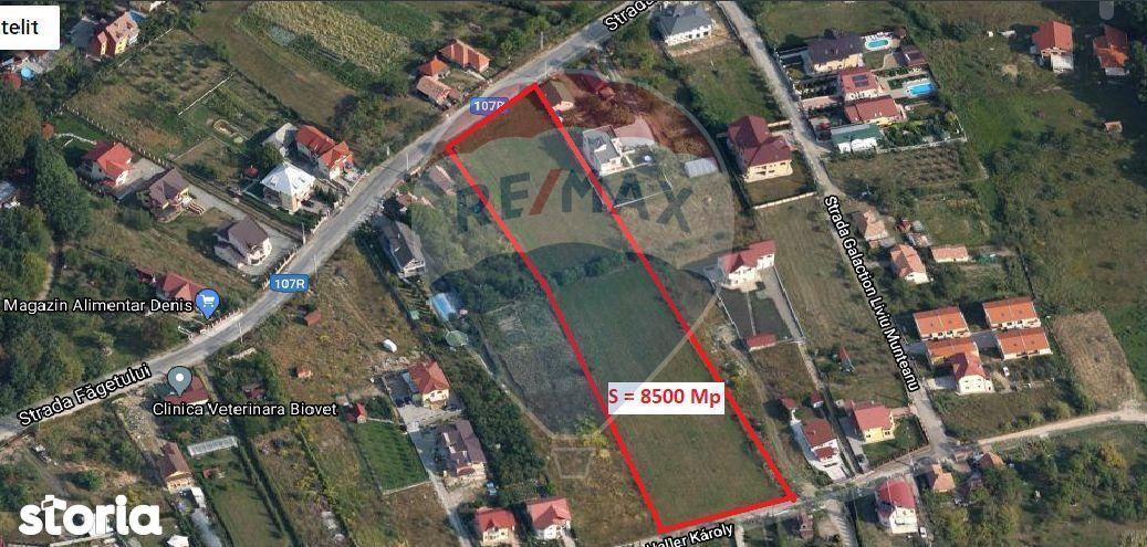 Teren de inchiriat in Făget / Cluj-Napoca 8300 mp