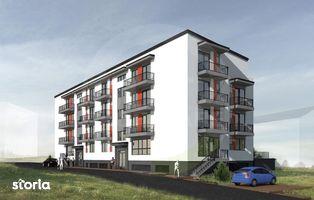 Apartament semifinisat, 69 mp, 3 camere!