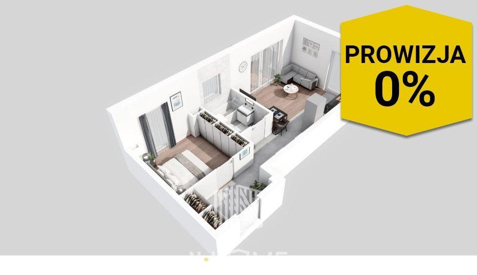 Dwustronne inwestycyjne mieszkanie z balkonem