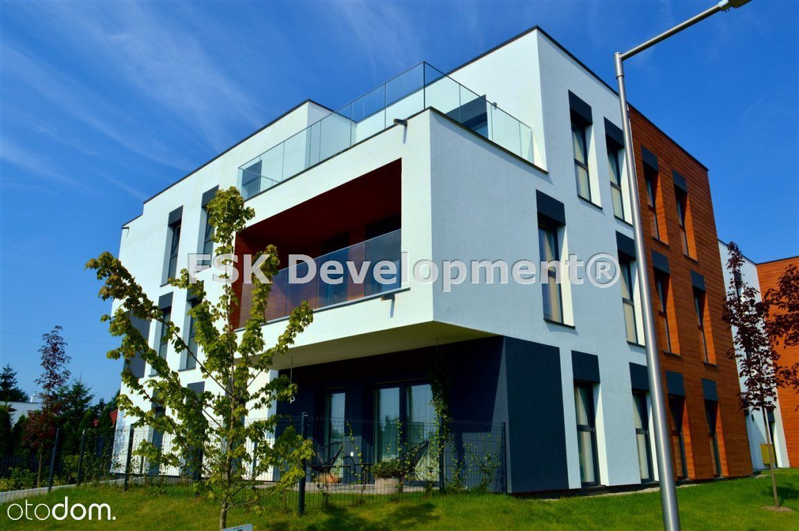 Apartament 65,74 m2 + taras i ogródek 20,38 m2 !