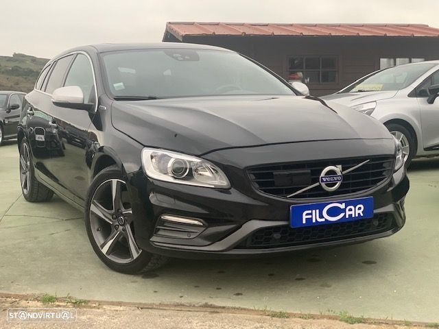 Volvo V60 Cross Country 2.4 d r-design twin engine d6 - 1