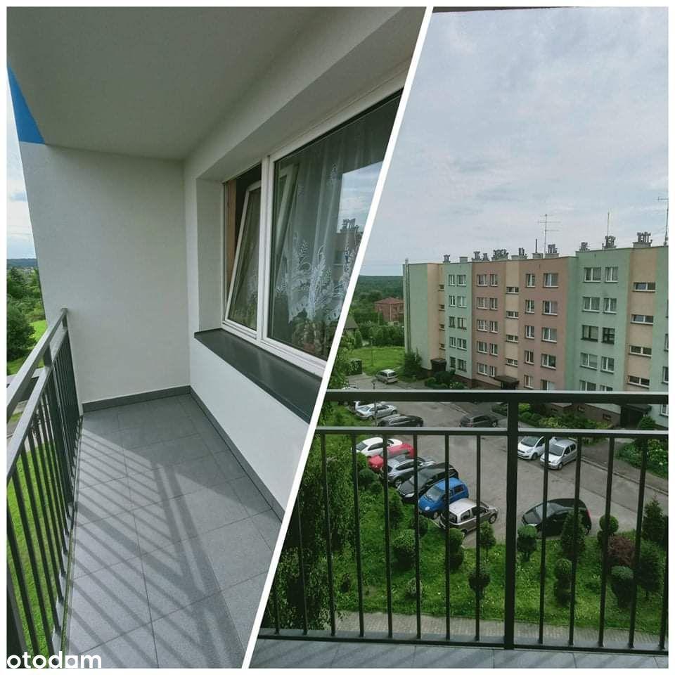 Ładne widokowe, ciche i ciepłe mieszkanie M4