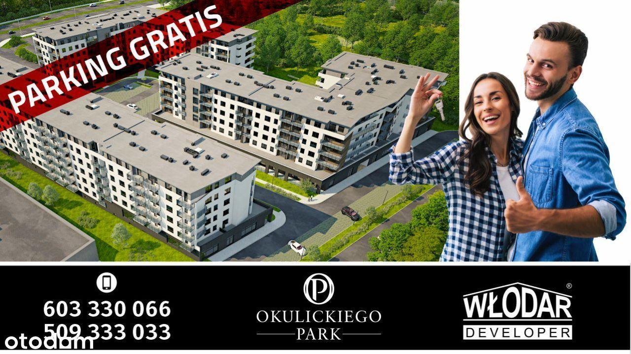 Okulickiego Park 3 pokoje 58,6m2 Parking GRATIS
