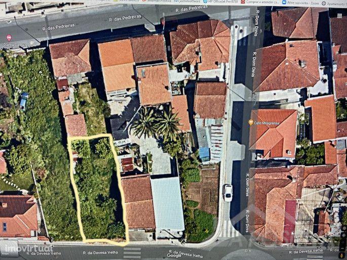 Terreno com projeto aprovado em São João da Madeira