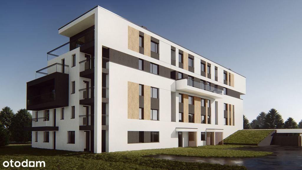 Mieszkanie 50,24 m2, ogródek 35 m2 - Drabinianka