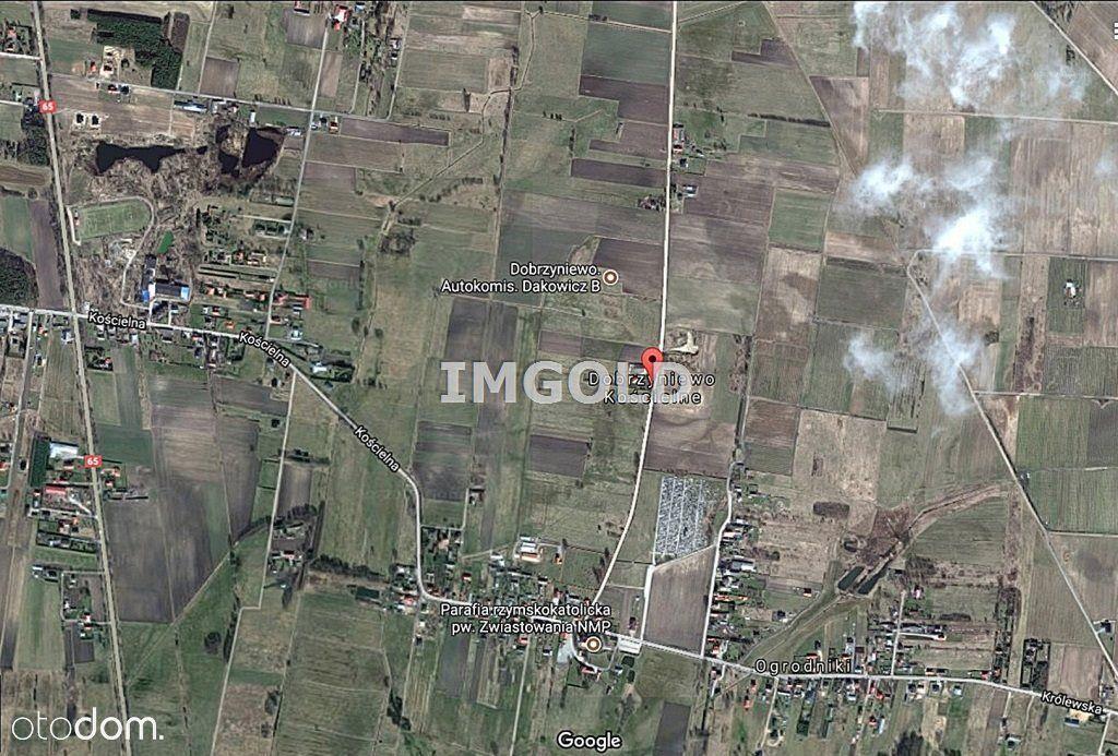 Działka przy planowanej obwodnicy S19 Dobrzyniewo
