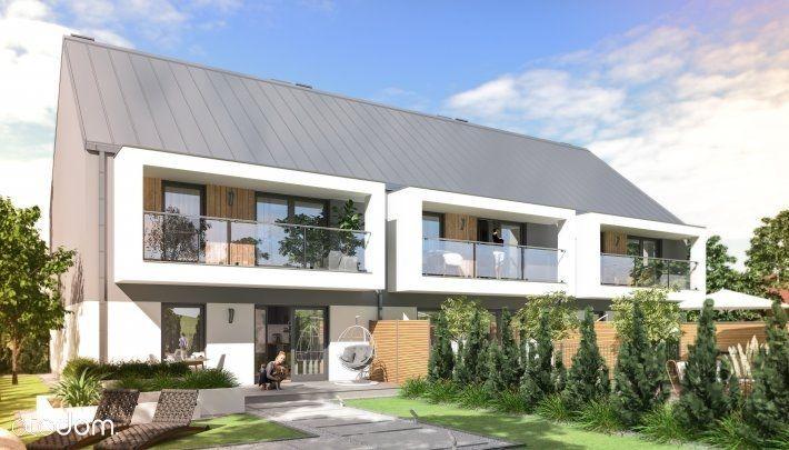 **Apartament 64,86 m²** z balkonem w zabudowie sze