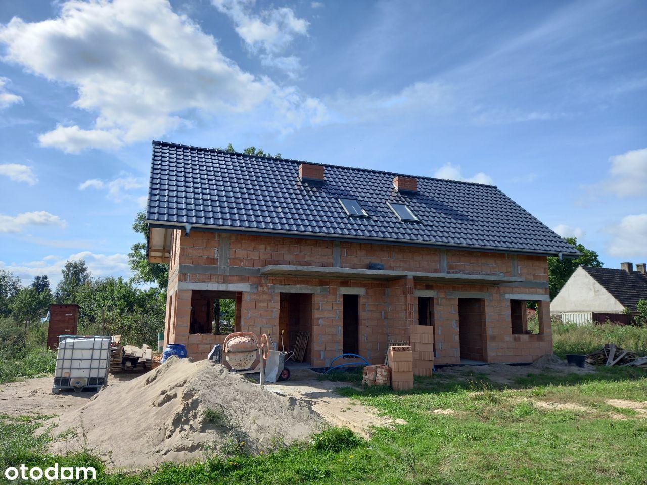 Dom jednorodzinny dwulokalowy - cena za połówkę!