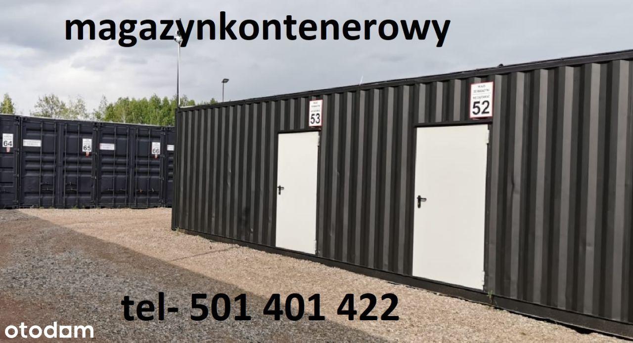 Hala magazyn Magazyn kontenerowy w Łódź