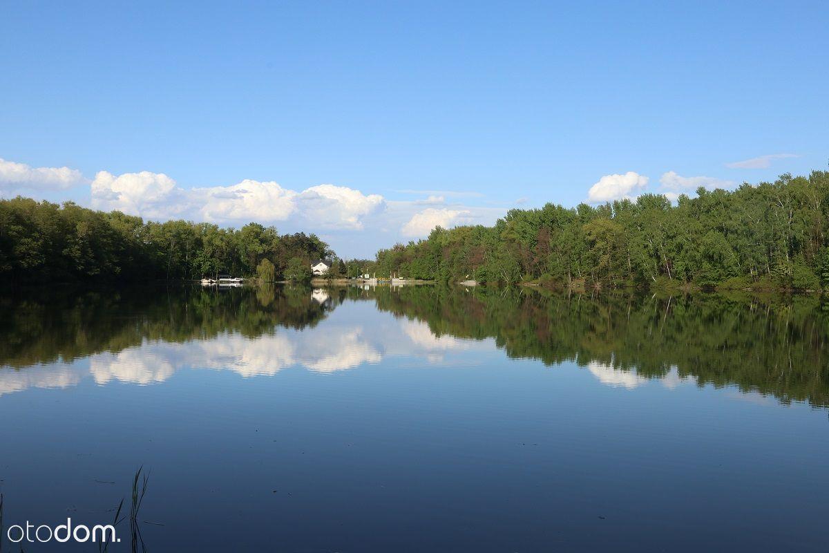 Sprzedam działkę nad jeziorem i Kanałem Ślesińskim