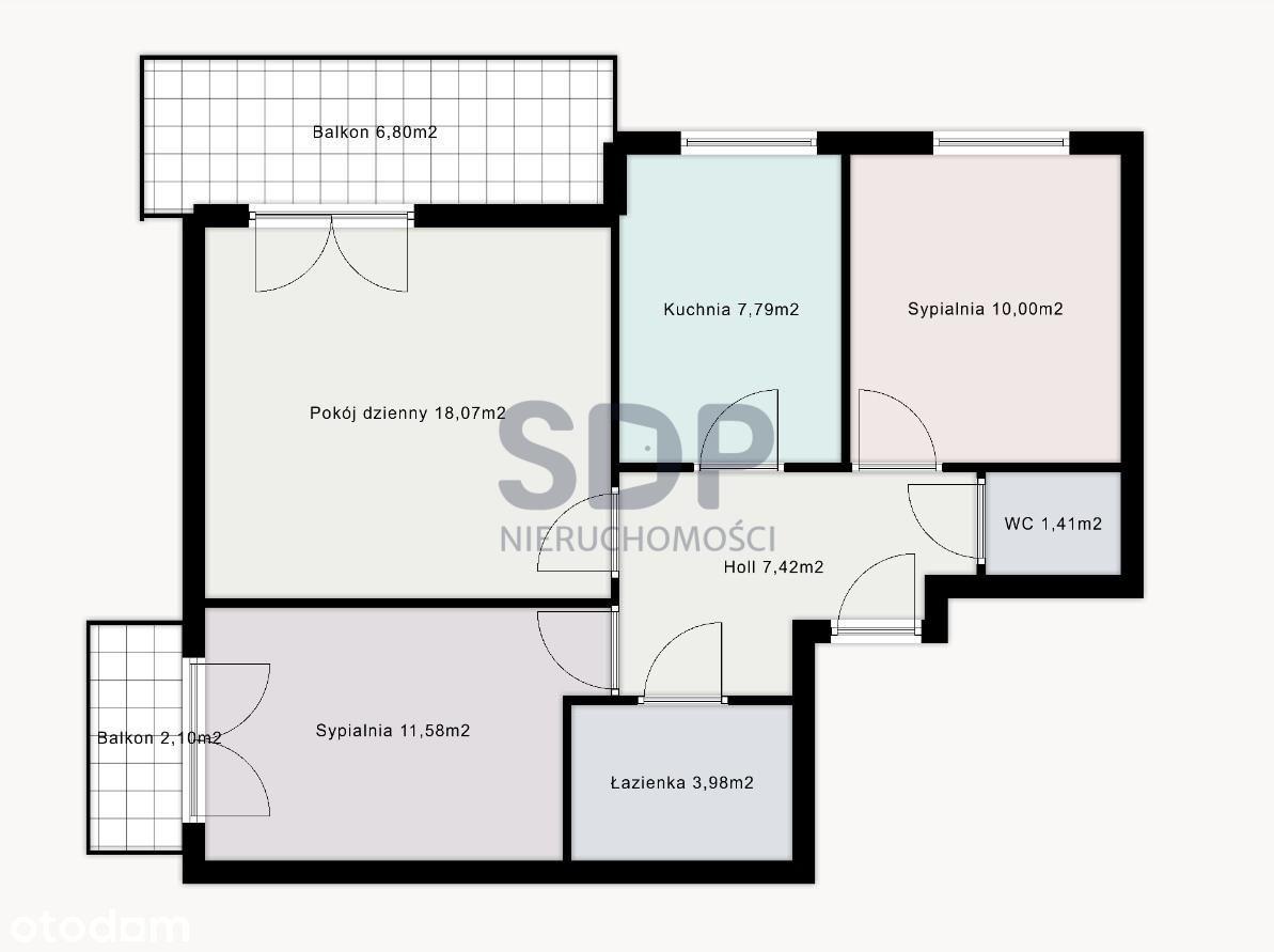 Mieszkanie 3/4 pokojowe w atrakcyjnej cenie