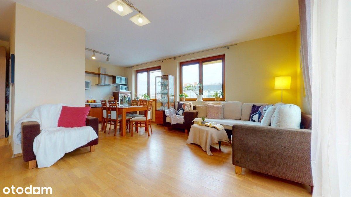 Słoneczne 3-pokoje z dużym balkonem, obok Arkadia!