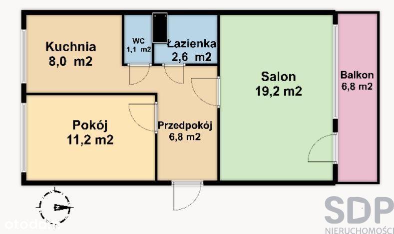 2-pok. mieszkanie w bloku na Kozanowie na start!