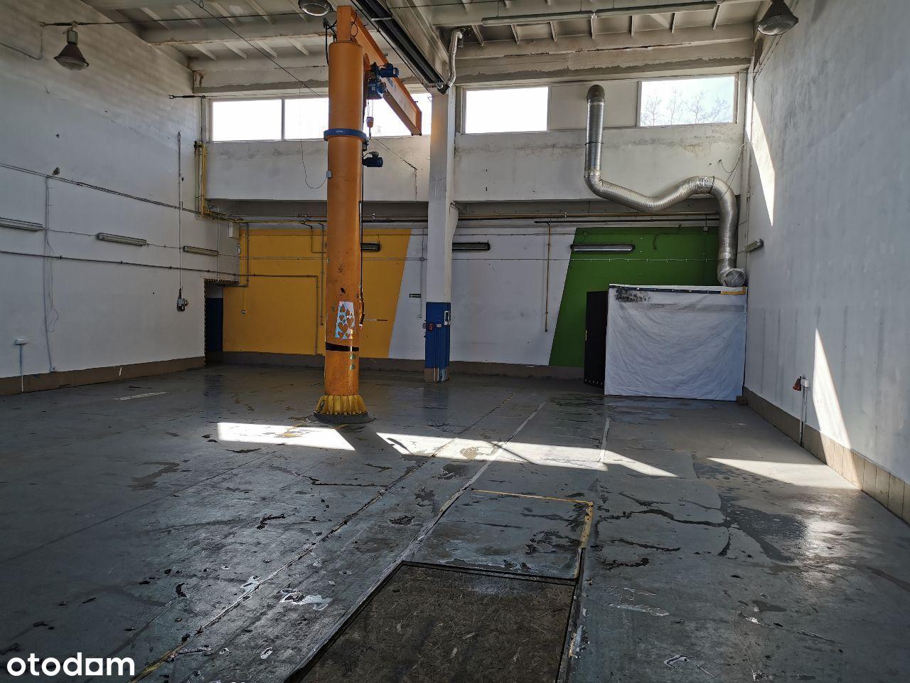 Hala magazynowo-usługowo-produkcyjna 400 m2
