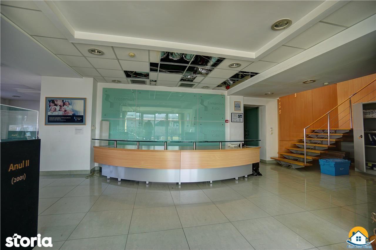 Inchiriere spatiu birouri si depozit 1200 mp, liber