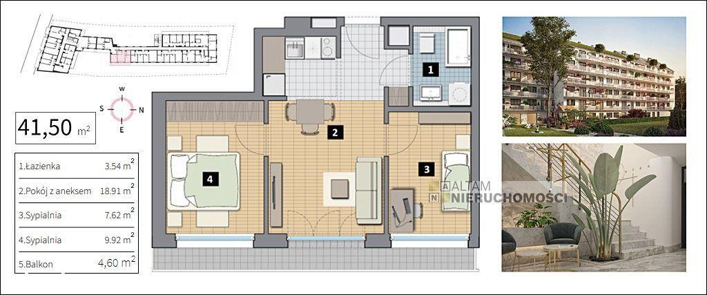 Nowe 3pok balkon 5m² ok. ul.Królewskiej Centrum 0%
