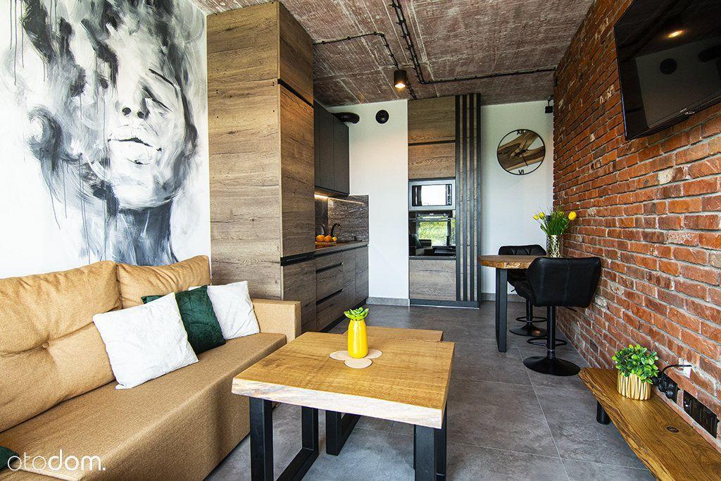 Mieszkanie w stylu loftowym do wynajęcia.
