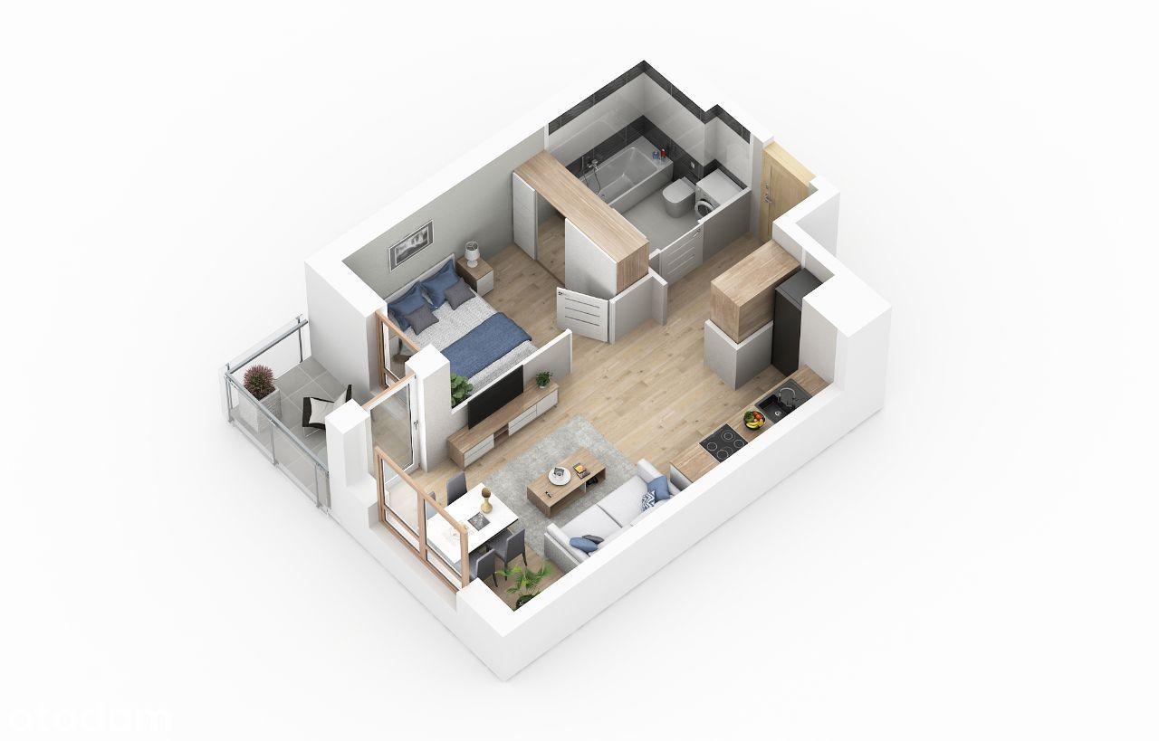 Nowe mieszkanie 2 pokojowe sprzedam.