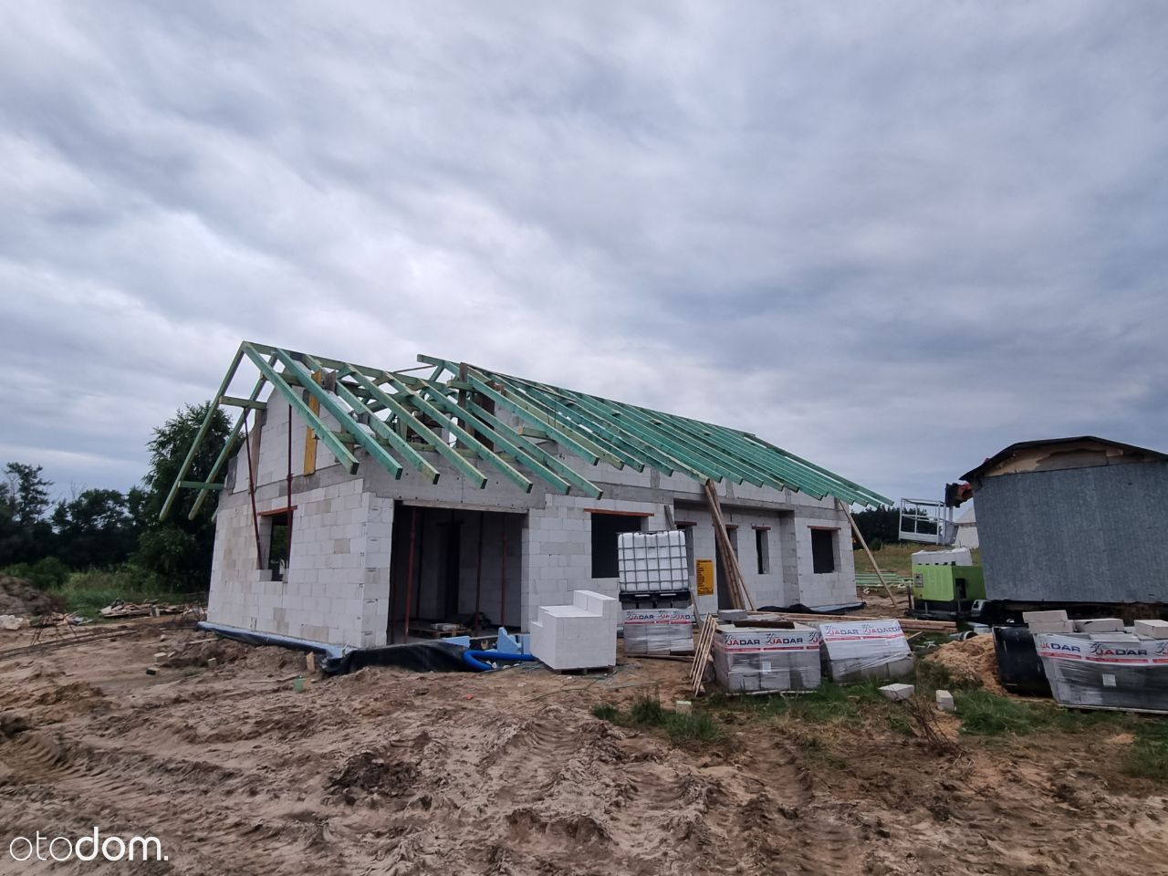 Dom parterowy 118m