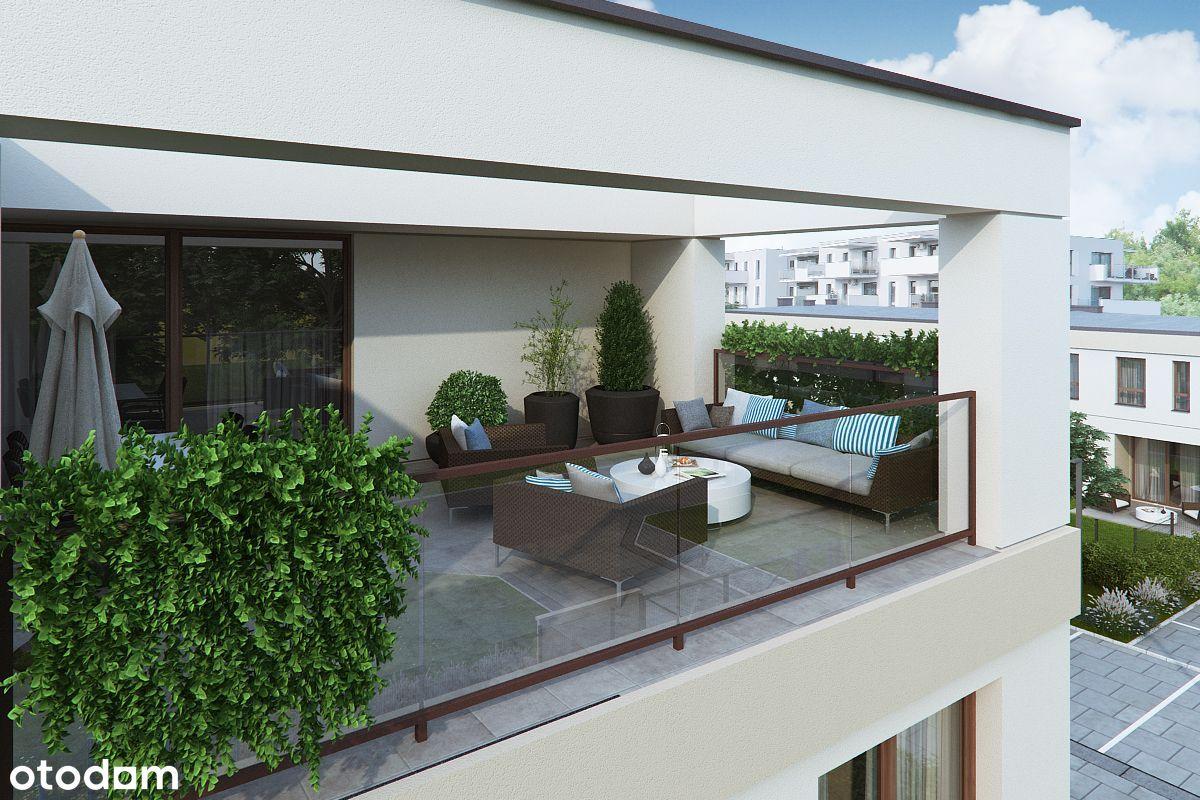 Segment z ogródkiem i garażem Osiedle Welta M9