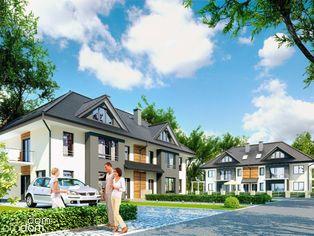 Nowe dwupoziomowe mieszkanie z ogrodem i 6 pokoi