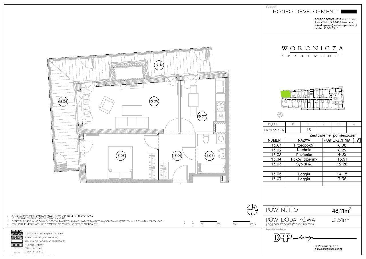 Mieszkanie w nowej inwestycji przy Metro Wierzbno