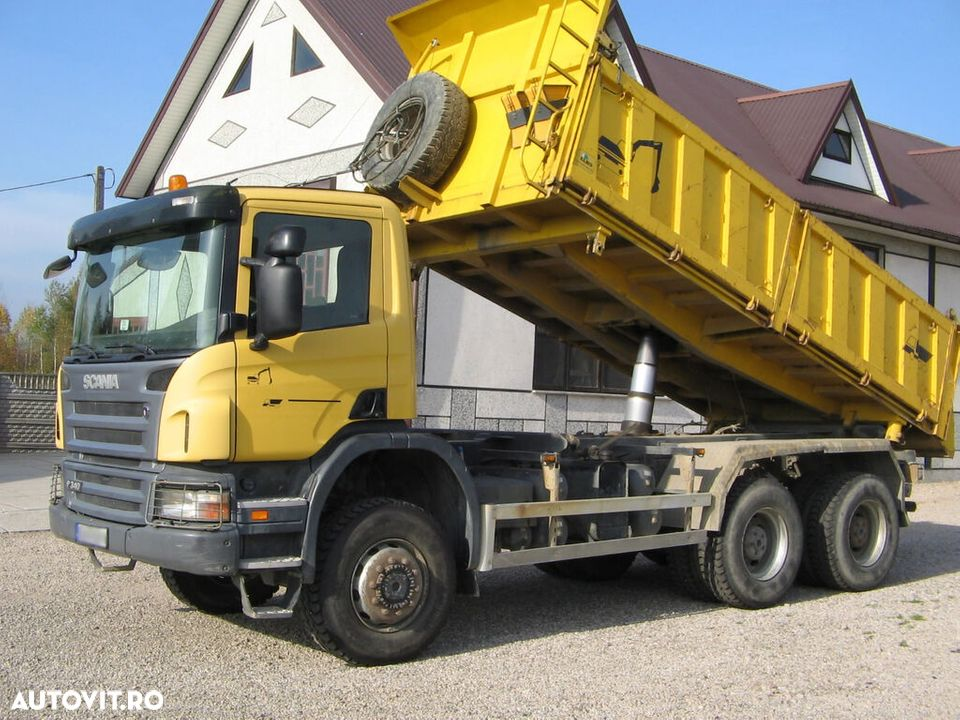 Scania 6x6 P340 3 SIDED TIPPER - 1