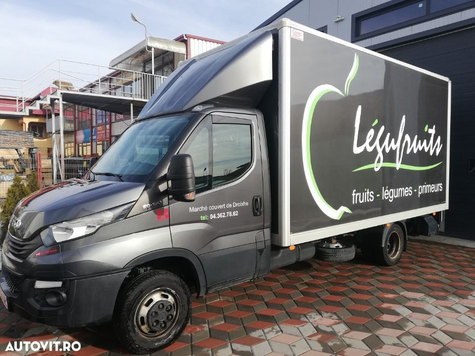 Iveco Iveco Daily 50/35 cu lift si usa laterala 3.5 to euro 6b suspensie ramforsata 180CP posibilitate leasing - 4