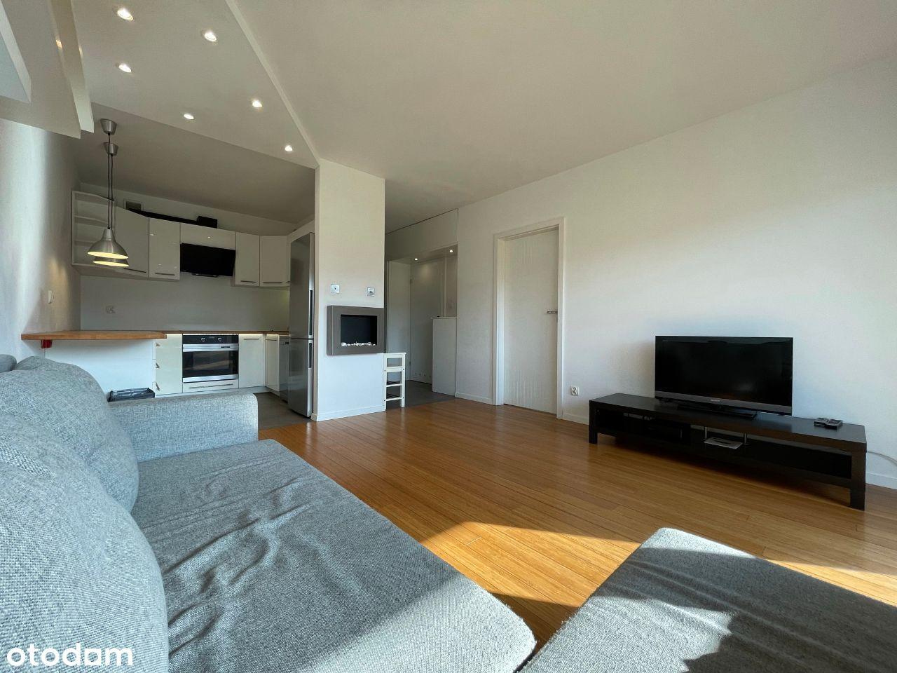 2 pokojowe mieszkanie 40m2, parking, duży balkon