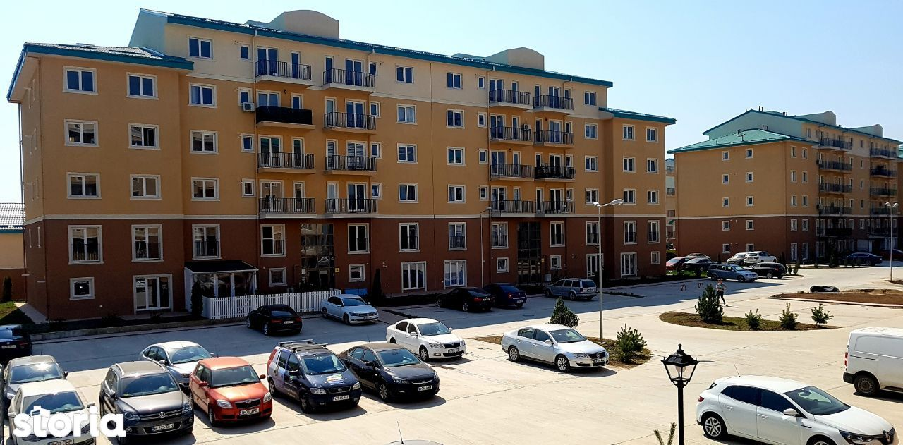 Apartament 3 camere tip duplex cu gradina