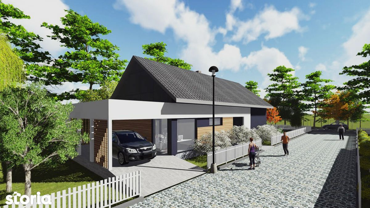 Case individuale in proiect nou - Somes Gardens