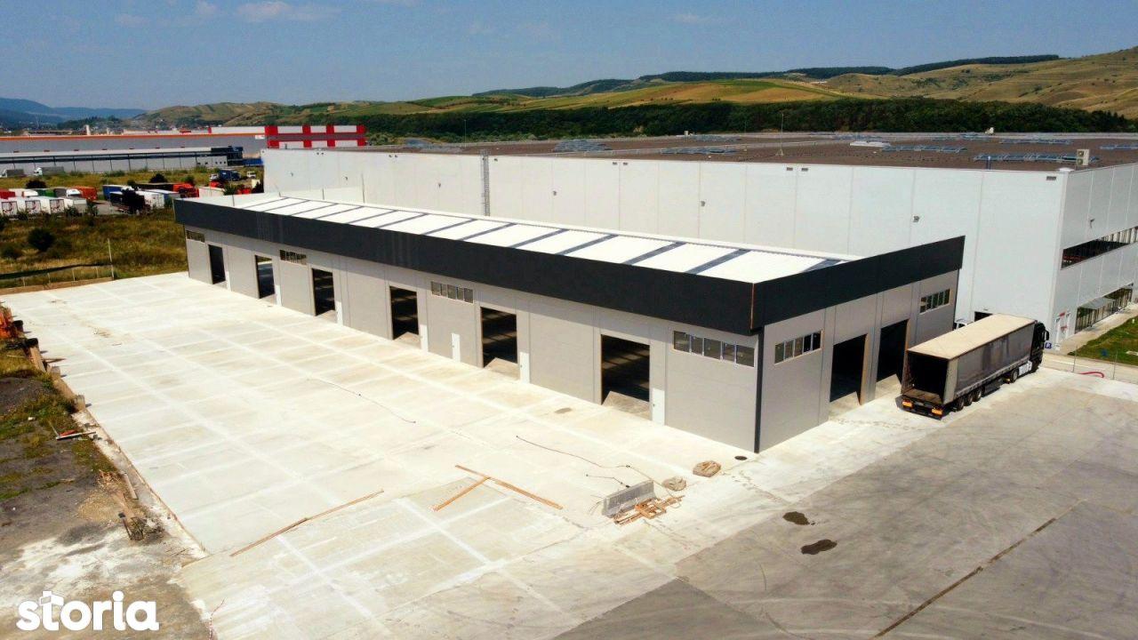 Spatiu Industrial-HALA NOUA/MODERNA-Zona Autostrazii- Curte Betonata