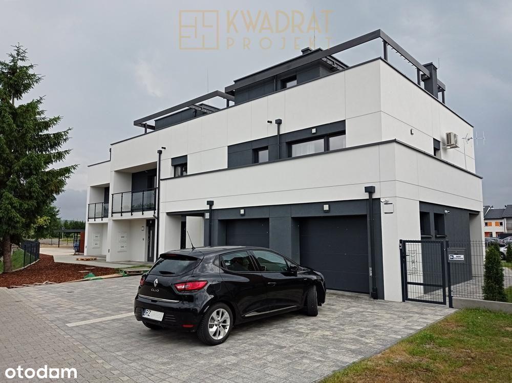 Piękne mieszkanie z tarasem na dachu + wiata i kom