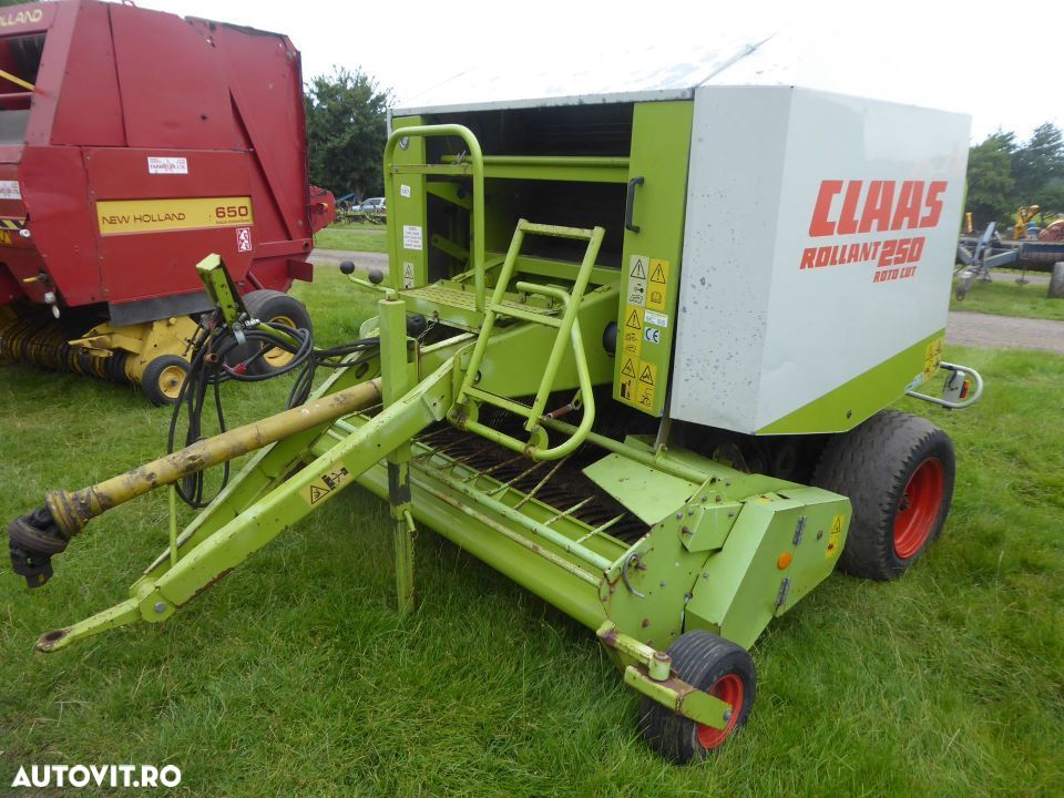 Claas Rollant 250 ROTOCUT - 2
